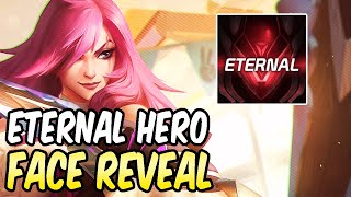 ETERNAL HERO FACE REVEAL - 100K SPECIAL | KATARINA GAMEPLAY | League of Legends