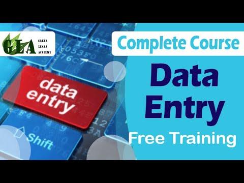 Data Entry complete course   Urdu