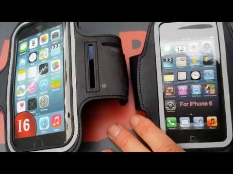 iPhone 6 armband vs iPhone 6 Plus sportarmband