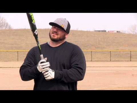 2014 DeMarini Stadium CL22: How Chris Larsen Grips the Bat