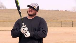 2014 DeMarini Stadium CL22: How Chris Larsen Grips the Bat