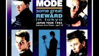 Depeche Mode - It Doesn't Matter/Somebody- Tokyo 1985