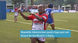 HIGHLIGHTS: Asia Rugby Sevens Trophy 2019  Day 1