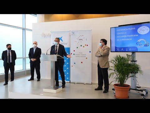 Presentación de proyecto piloto sobre exclusión financiera en la provincia de Málaga