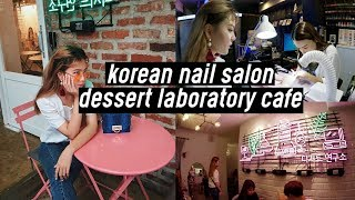 Neon Aesthetic Korean Nail Salon (Tropical Nail), Dessert Laboratory Cafe, and MORE NEON | DTV #35
