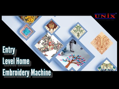 UNIX Single Head Computerised Embroidery Machine