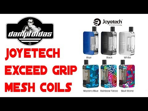 YouTube Video zu Joyetech Exceed Grip Starterset 1000 mAh 3.5/4.5 ml