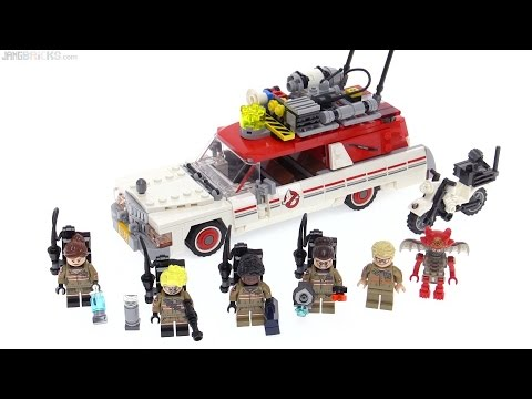 LEGO Ghostbusters (reboot) Ecto 1 & 2 review! 75828