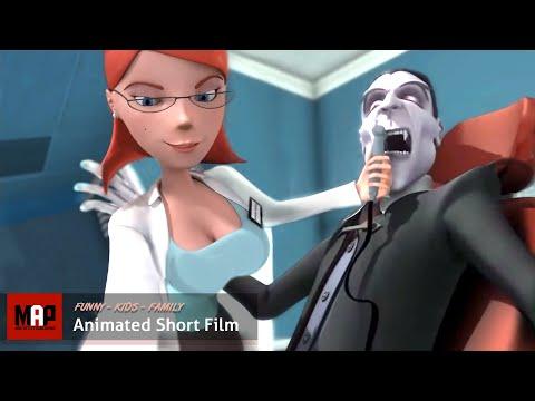 CGI Sexy Animated Short Film ** VAMPIRE'S CROWN ** Funny Animation by Hertfordshire University