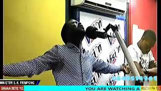 SK FRIMPONG POWERFUL LIVE WORSHIP@VISION1 FM