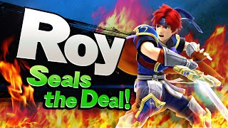 【Smash Bros. for Nintendo 3DS / Wii U】Roy seals the deal!