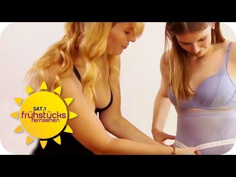 Shapewear Test - SEXY oder nicht?  | SAT.1 Frühstücksfernsehen