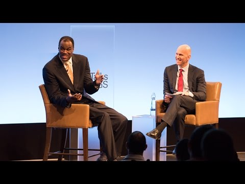 "Talks at GS – David Robinson: ""The Admiral"" on Leading From the Front"