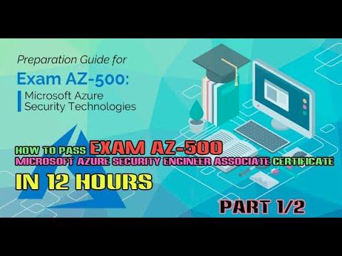 #1 How to pass Exam AZ-500 Microsoft Azure Security Engineer ...