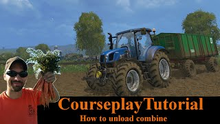 Courseplay Tutorial - How to combine a field - Farming