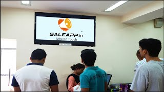 The SaleApp D.M.S. (Digital Media Signage) Video!