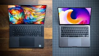 Dell XPS 15 9500 VS 2020 13 MacBook Pro!  Is The Apple Tax Worth It?!