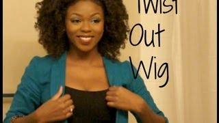 Natural looking twist out with weave! - Kinky Comber