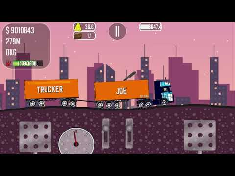 COOL GAME TRUCKER JOE TRANSPORTING BRICKS TO A COPPER MINE CONSTRUCTION SITE
