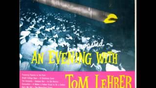 <b>Tom Lehrer</b>  An Evening Wasted With <b>Tom Lehrer</b> 1959