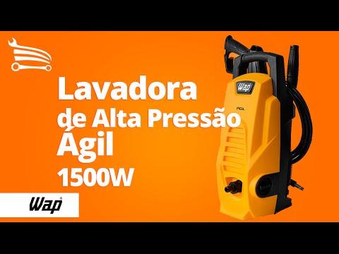Lavadora de Alta Pressão Wap 1300 PSI  - Ágil - Video
