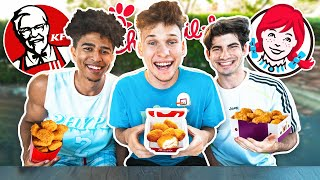 Who Makes The BEST Fast Food Chicken Nuggets!?