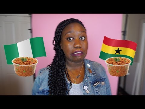 Nigerian 🇳🇬  vs. Ghanaian 🇬🇭 Jollof Rice & Other Moments From My Annual Trip To Lagos 👩🏿✈️