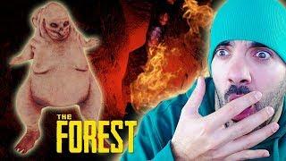 ¡NOS ENFRENTAMOS A UN COWMAN! ⭐️ The Forest #5 | iTownGamePlay