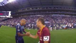 Ref Cam: Sights and Sounds from the 2013 ATT MLS All-Star Game