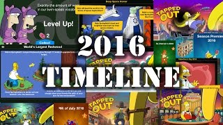 The Simpsons Tapped Out 2016 Timeline - Good And Bad