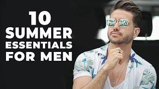 10 Summer Essentials Every Man Must Have | Mens Fashion 2018 | ALEX COSTA