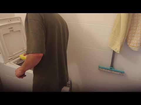 Teil 2 perfekte Reinigung Waschmaschine Toplader