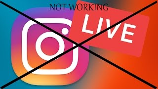 Instagram live option not showing !!! how to fix it !!!