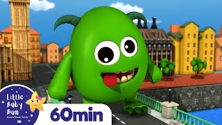 London Bridge Is Falling Down | +More Nursery Rhymes and Kids Songs | ABC and 123 | Little Baby Bum
