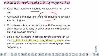 Eğitim Vadisi AYT Felsefe 11.Föy Kültür ve Toplum 2 Konu Anlatım Videoları