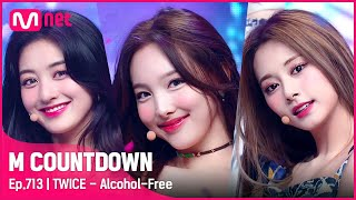 [TWICE - Alcohol-Free] Comeback Stage | #엠카운트다운 EP.713 | Mnet 210610 방송