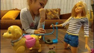 Барби и КАКАЮЩАЯ СОБАКА.Видео для детей.Игра для детей.