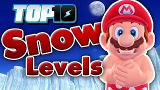 Top 10 Snow Levels