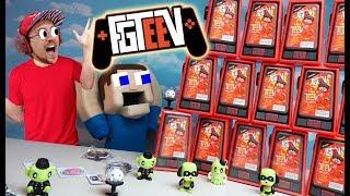 FGTEEV & Puppet Steve VS. The WALL OF MINI TEEV's Mega Unboxing!