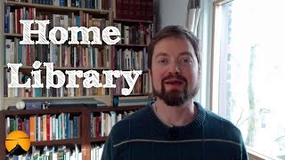 Wall Of Books: A Tour Of My Home Library