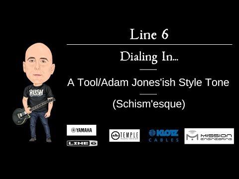 Line 6 Helix - Dialing In... Tool/AdamJones'ish Style Tone (Schism'esque)