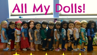 All My Dolls! FiveDollStars Stop-Motion