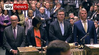 BREAKING: The moment MPs forced government to seek extension