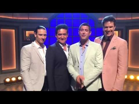 Il divo back on qvc u k wheels of laughter - Il divo website ...