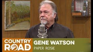 """Gene Watson sings """"Paper Rosie"""" on Larry"""
