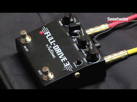 Fulltone Fulldrive 3 Overdrive Pedal Review – Sweetwater Sound