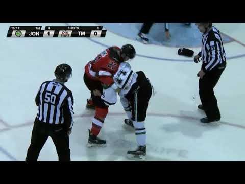 Thomas Bellemare vs. Steven Oligny