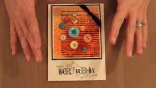 Studio SN: Cardmaking With ICE Resin And 3-D Embellishments