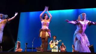 Olivia Foa'i  and Te Vaka Dancers perform at Disney's Moana Premiere