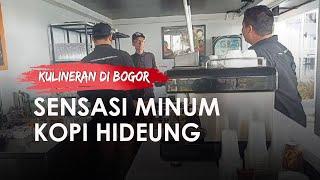 Sensasi Baru, Minum Kopi Hideung di Tamansari Bogor, Ngopi Sambil Nikmati Pesona Gunung Salak